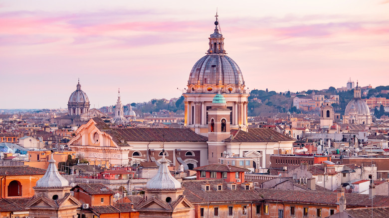 Vatican City skyline