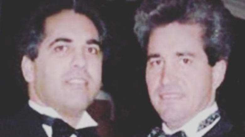 Willy Falcon and Sal Magluta in tuxedos