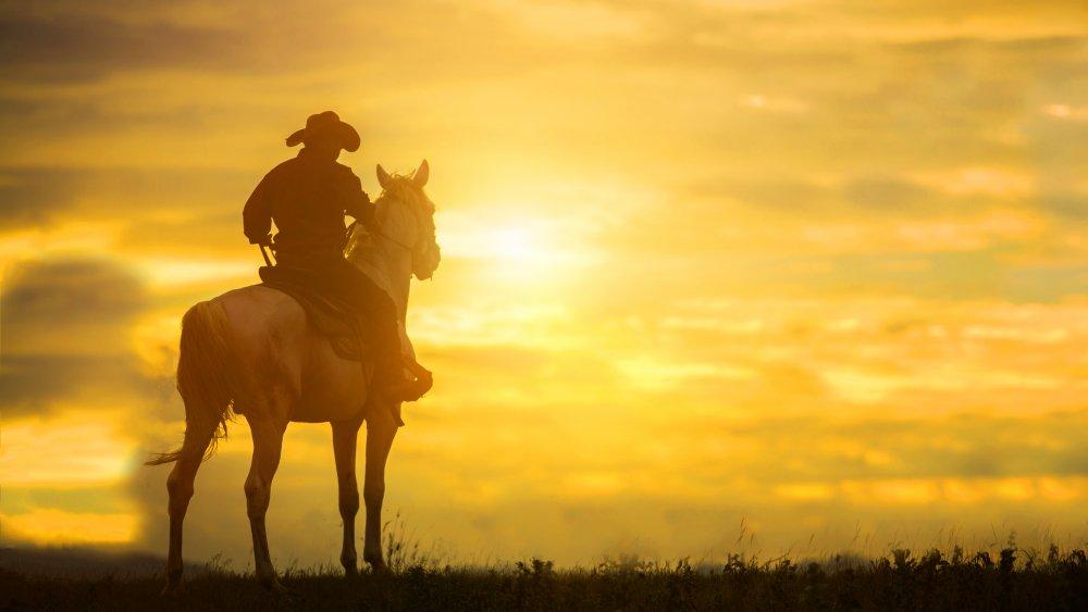 Cowboy, probably dirty