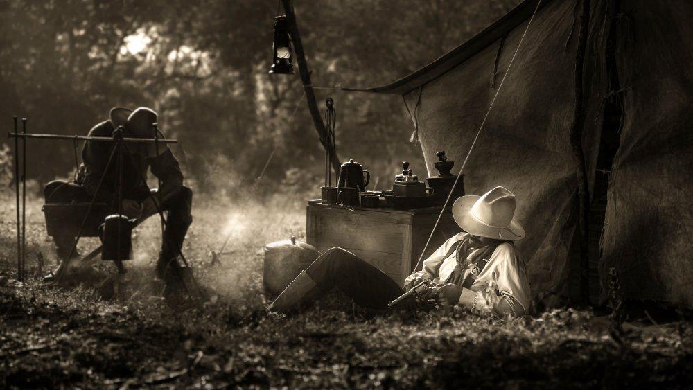 Old West folks at rest