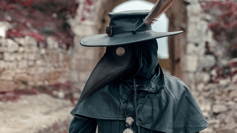 Plague doctors were common sights in Medieval Europe