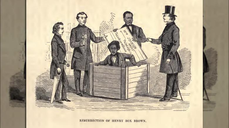 Resurrection of Henry Box Brown