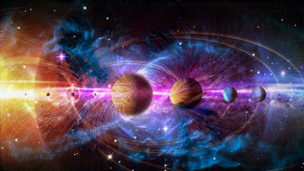 Solar system 3D image via NASA