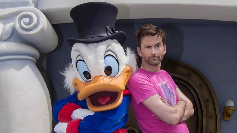 Scrooge McDuck and David Tennant