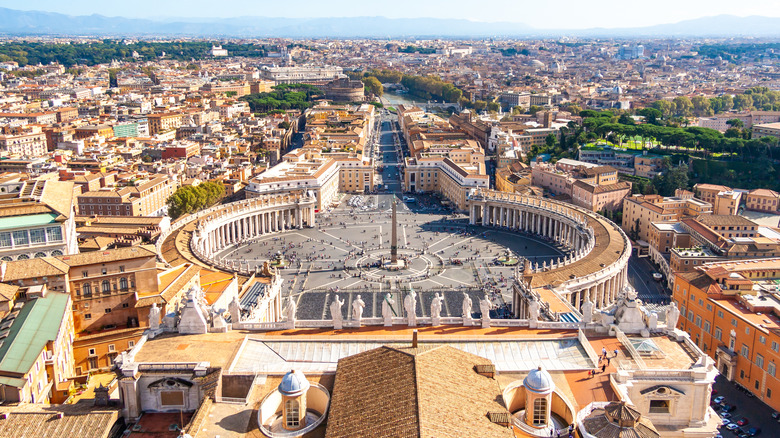View from St. Peter Basilica