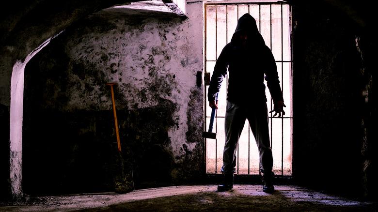 silhouette of killer