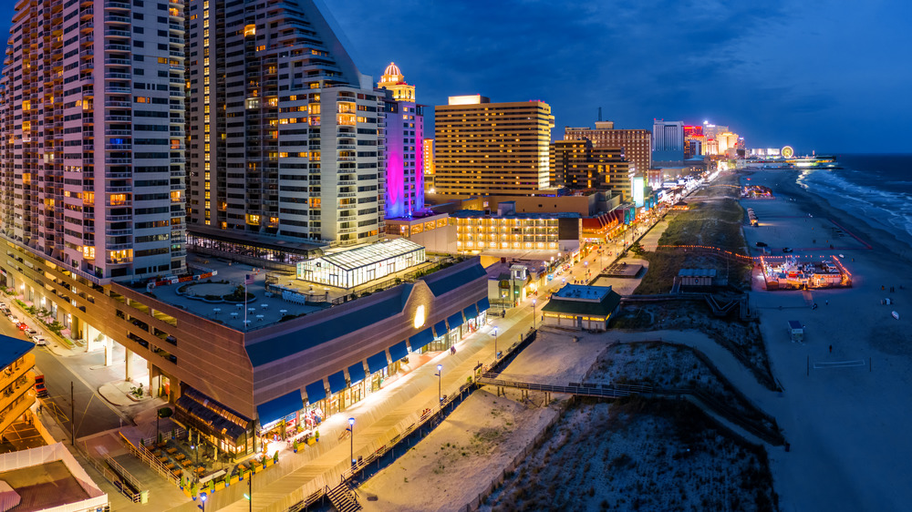 Nighttime view, Atlantic City