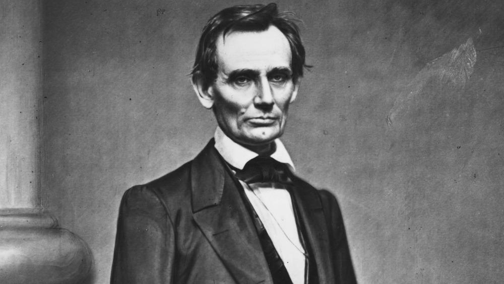 Abraham Lincoln, by Mathew Brady