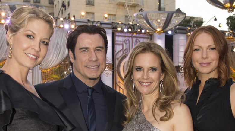 John Travolta, Jenna Elfman, Laura Prepon, Kelly Preston, Scientology