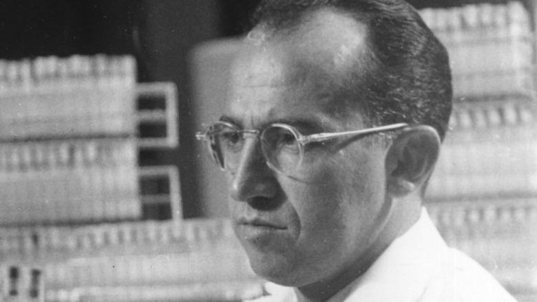Polio vaccine inventor Jonas Salk