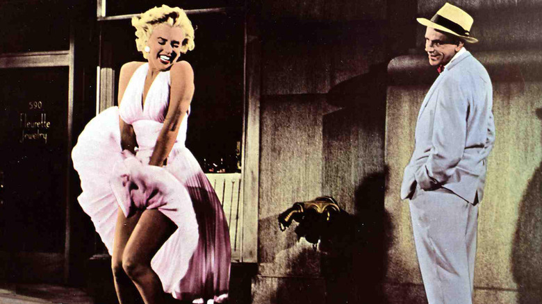 Marilyn Monroe and Tom Ewell