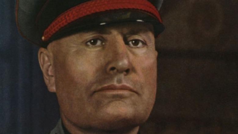 Mussolini portrait