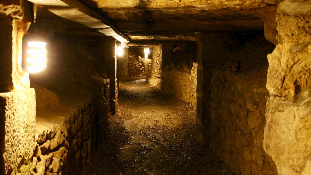 Paris Catacombs, ancient burial place