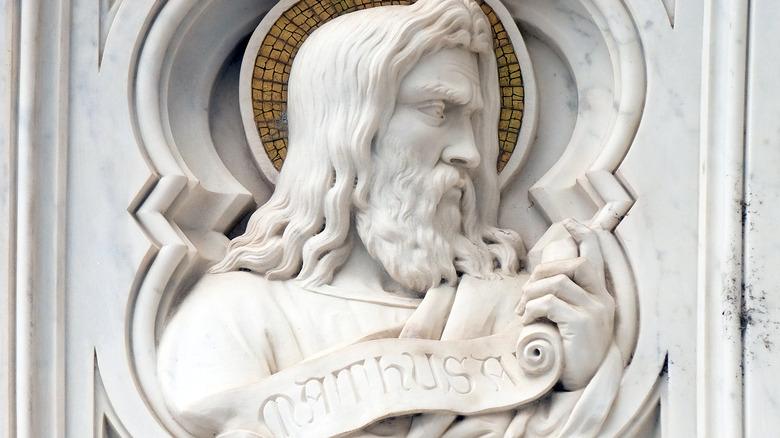A statue of Methuselah