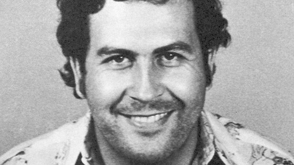 Mural of Pablo Escobar