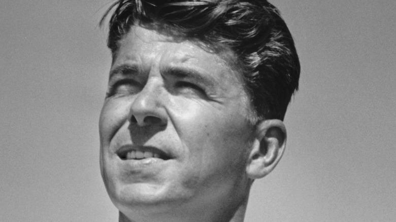 Reagan at his ranch
