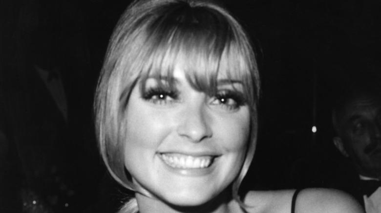 Sharon Tate smiles