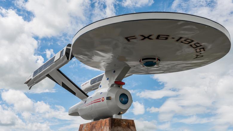 A Star Trek starship