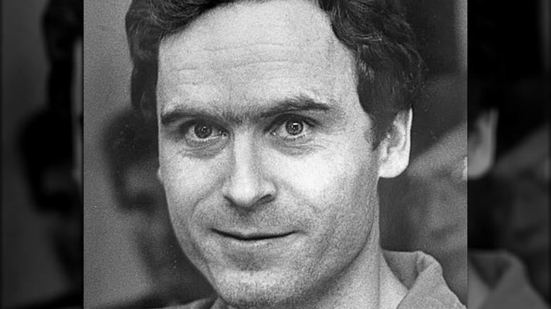 Ted Bundy head shot