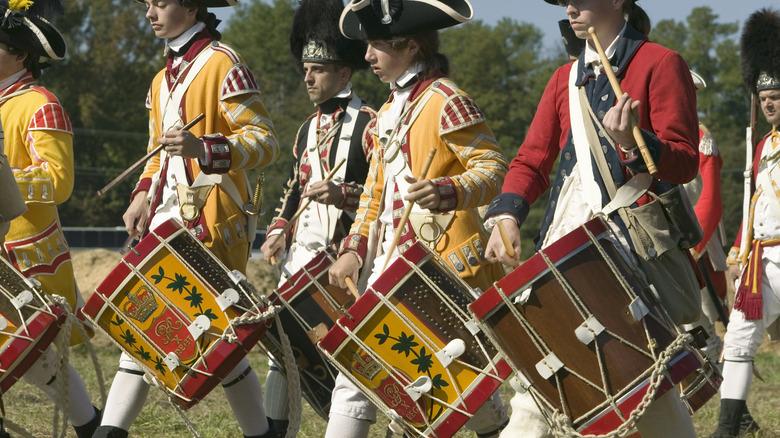 American Revolution reenactors