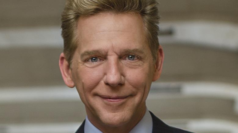 David Miscavige grinning