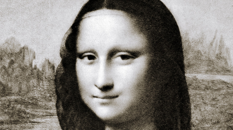 Reproduction of the Mona Lisa