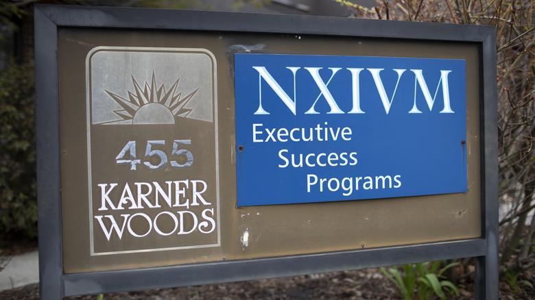 NXIVM sign