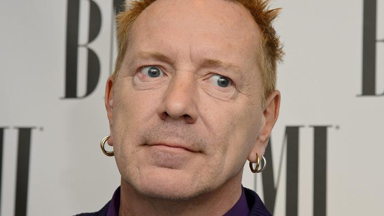 John Lydon aka Johnny Rotten