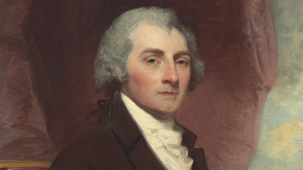 Portrait of William Thornton sitting