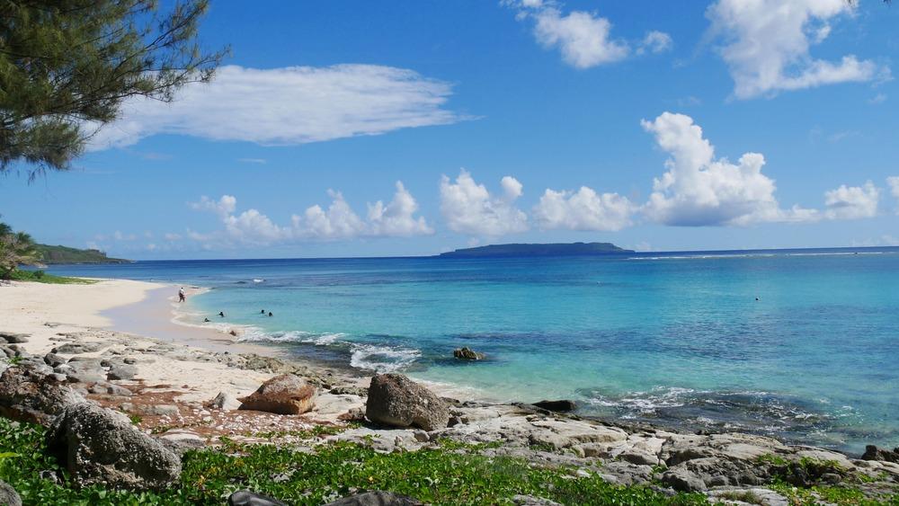 Northern Mariana Island beach