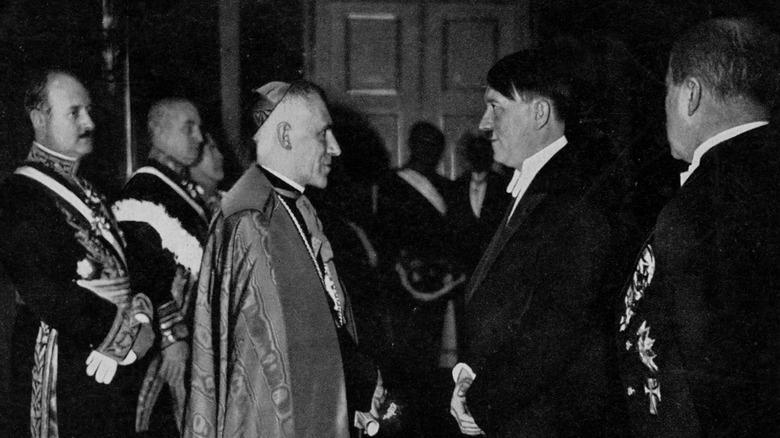 Hitler meeting papal legation