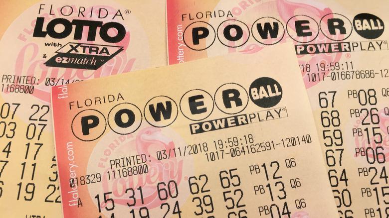 Florida Powerball lottery tickets