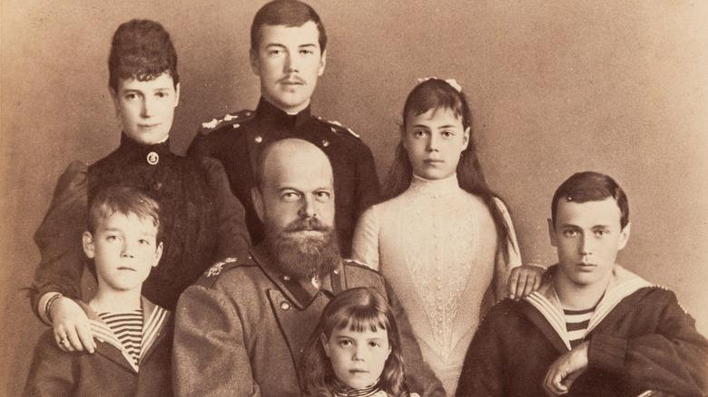 The Romanovs in 1888