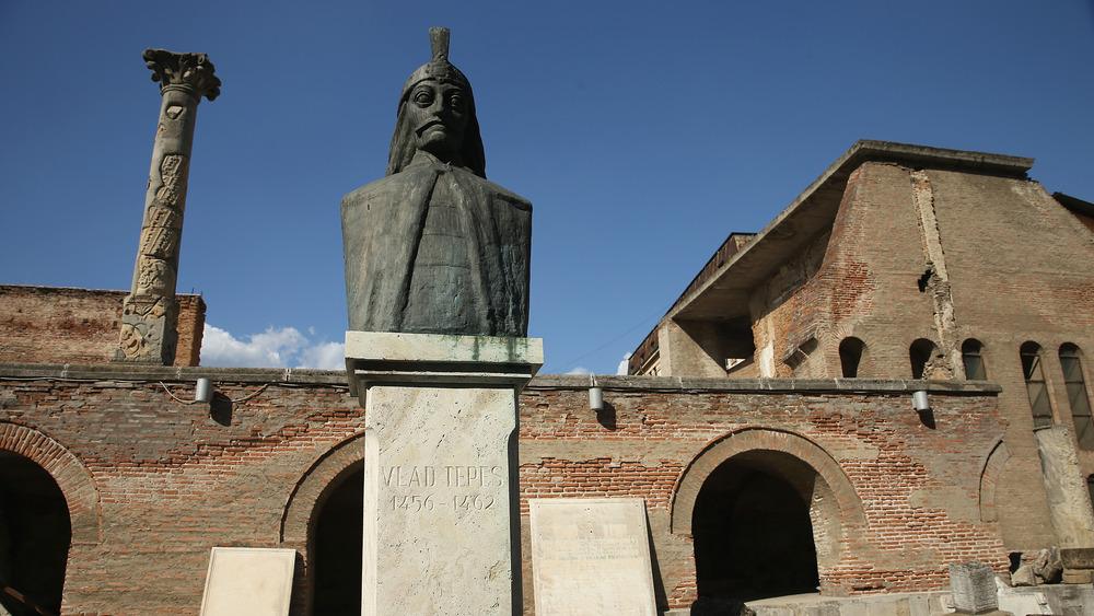 Vlad the Impaler in Bucharest