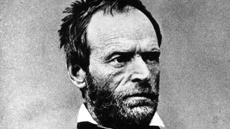 William Tecumseh Sherman posing