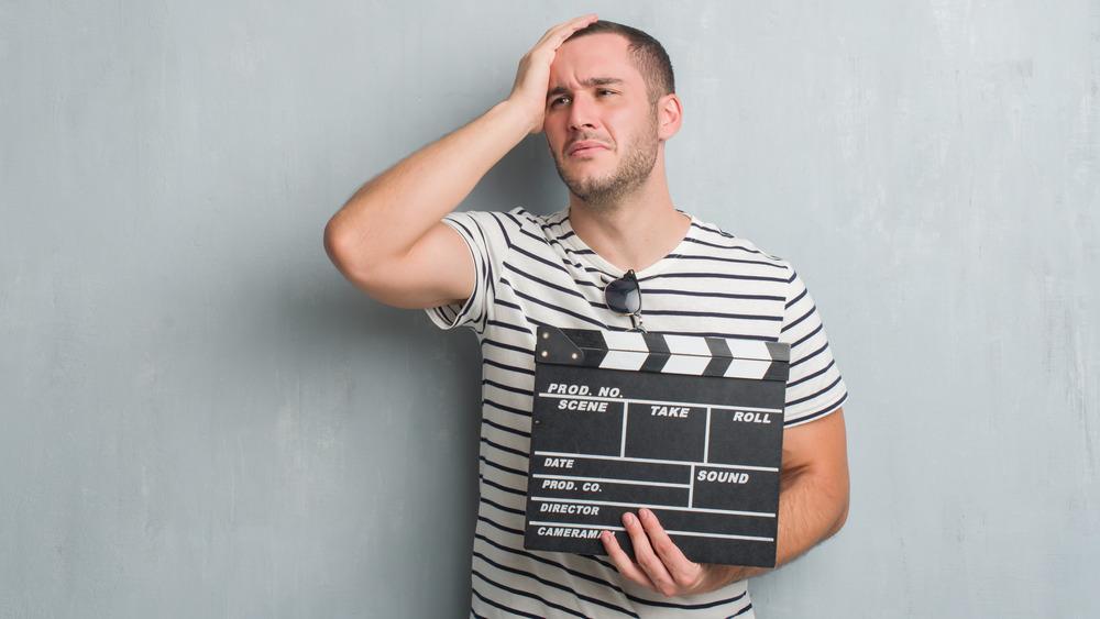 Movie producer mistake