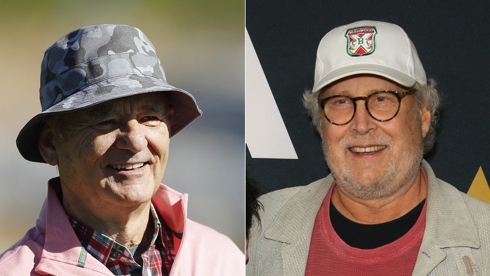 Bill Murray and Chevy Chase