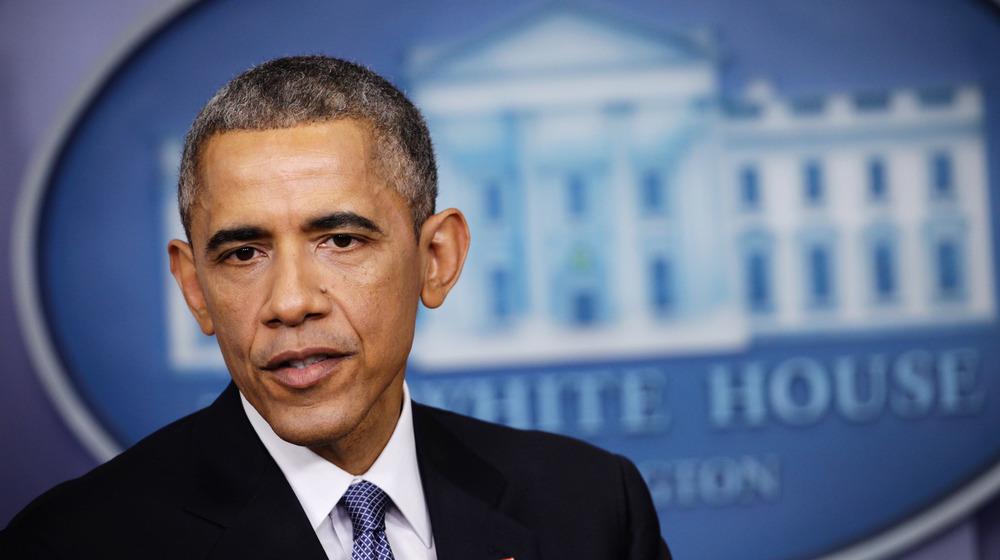 Barack Obama at White House