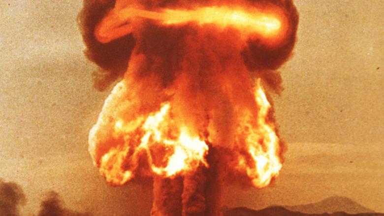 Hydrogen bomb test, 1957