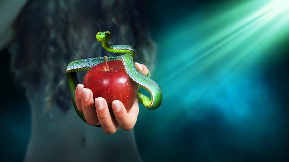 Garden of Eden, serpent, apple
