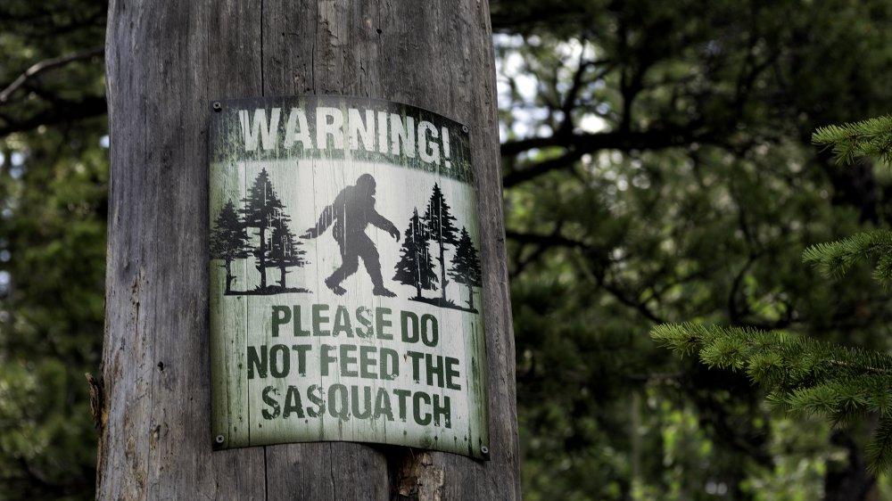 Sasquatch signage