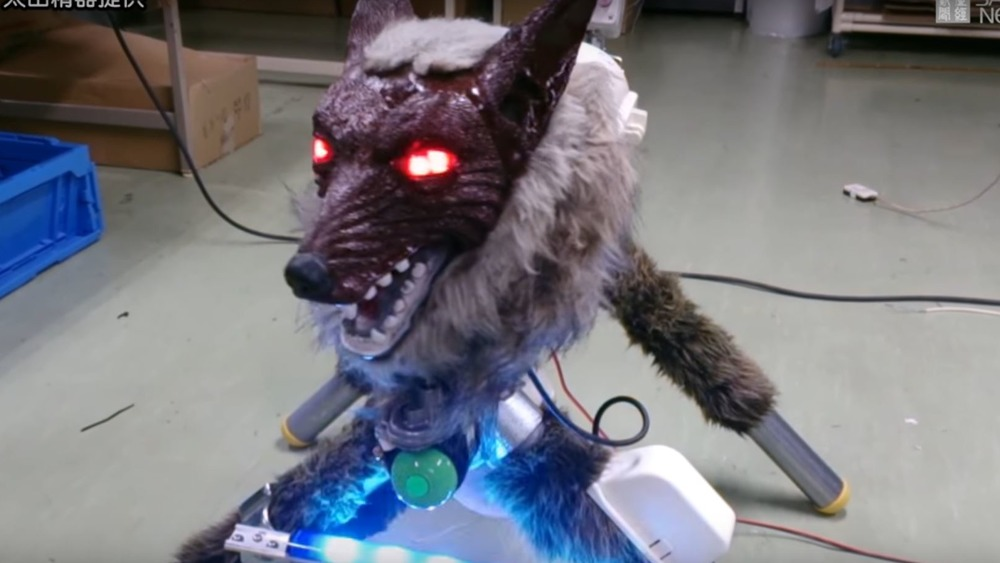 A Monster wolf that protects homes and farmland in Takikawa, Hokkaido