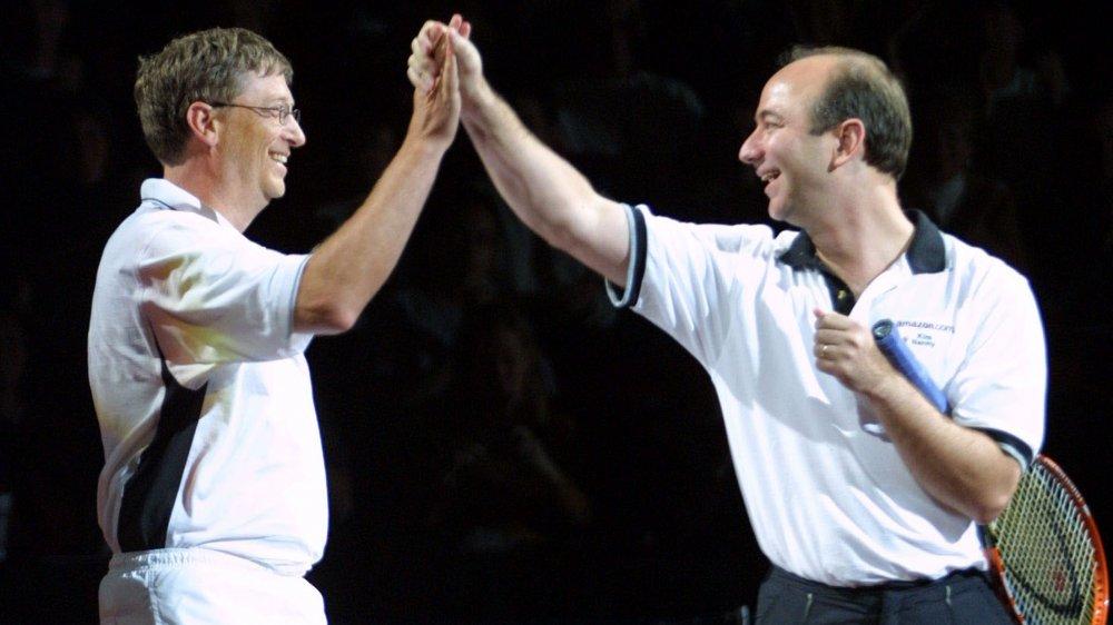 Bill Gates, Jeff Bezos
