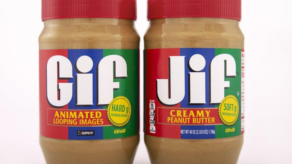 The Jif/GIF jars