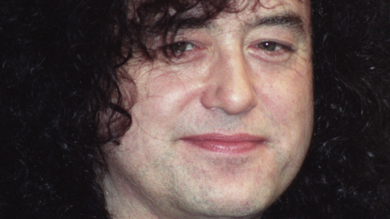 Jimmy Page close-up