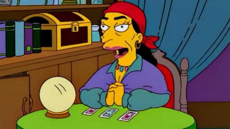 simpsons fortune teller
