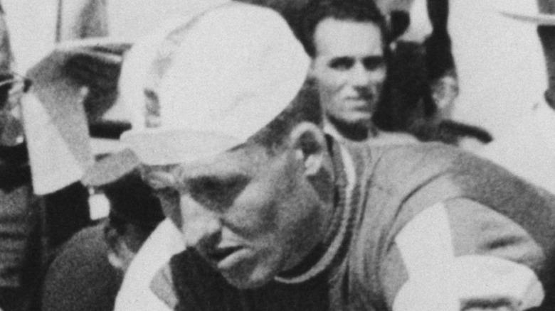 Knud Jensen preparing for race