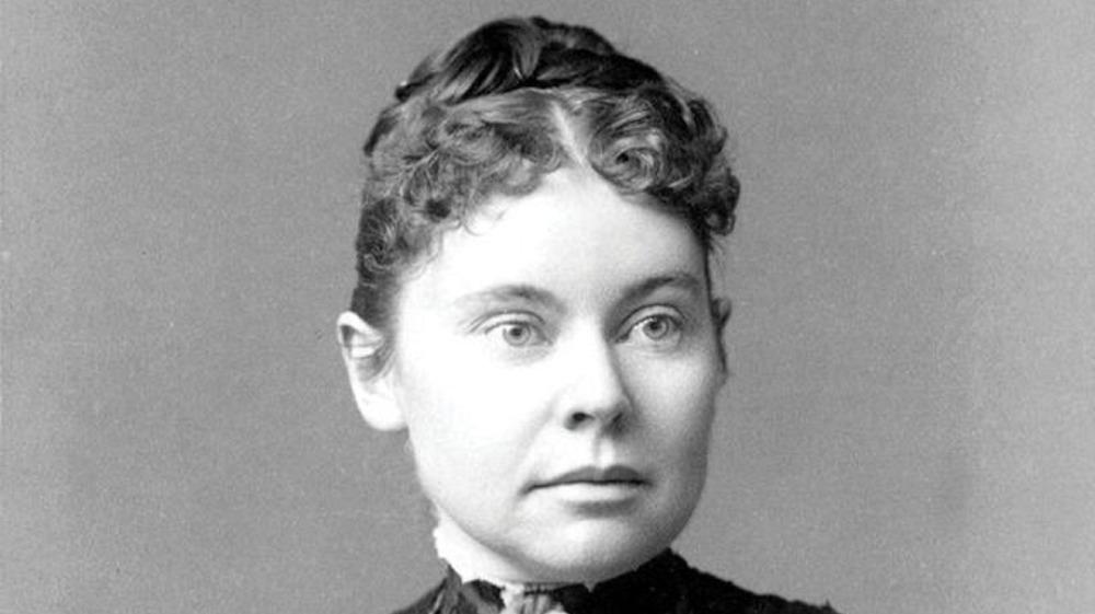 Lizzie Borden in 1890