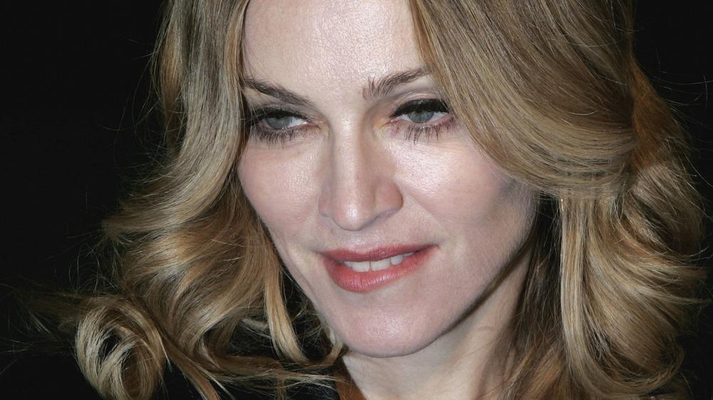 singer and actress Madonna