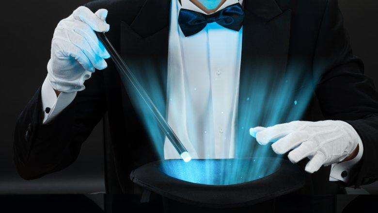 magician trick